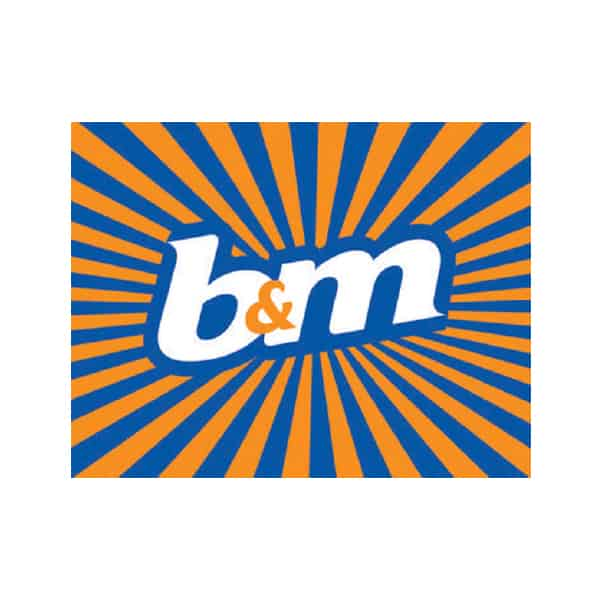 We are proud to be trusted by B&M