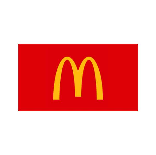 We are proud to be trusted by McDonalds