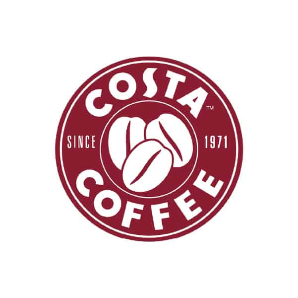 We are proud to be trusted by Costa Coffee